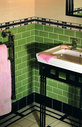 Book Of Green Victorian Bathroom Tiles In Uk By Mia